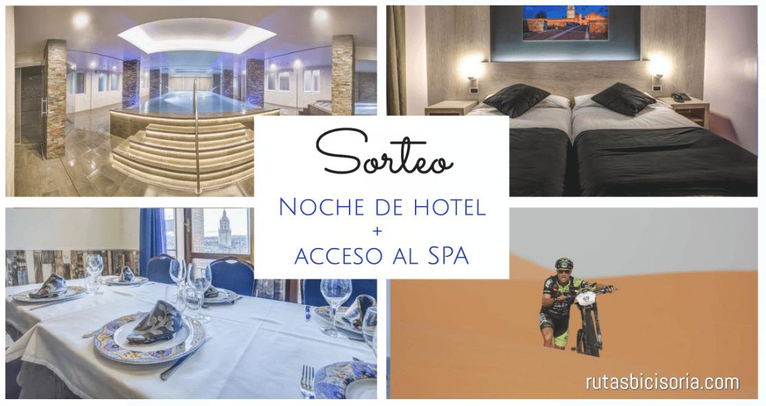 Sorteo Noche De Hotel + Acceso A Spa + Ruta En Bici